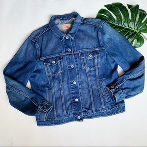 LEVI'S CLASIC DENIM  | MEDIUM WASH JEAN JACKET b23